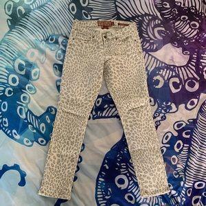 Lucky Brand Jeans - Animal Print Legend Capri